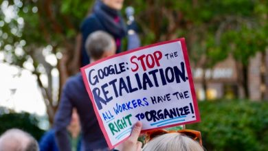 Photo of The US labor board accused Google of illegally spying on employee activists, firing them, and blocking workers from organizing | Hugh Langley,Isobel Asher Hamilton